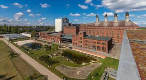 Das Gelände der malzfabrik heute. Foto: Niels Krüger/malzfabrik