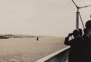 """Gerhard Valentin, Bruno Valentin an Bord des """"Highland Patriot"""" auf seinem Weg nach Brasilien, 1937. Archiv Andreas und Thomas Valentin"""