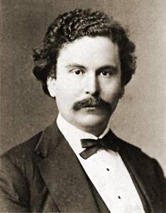 Hermann Rückwardt im Jahr 1870.