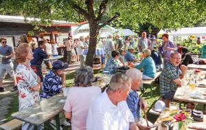 Das Sommerfest in Steinstücken erfreut sich großer Beliebtheit. Foto: Elke Hammer