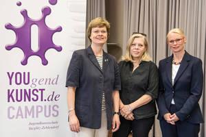 Gründungsteam (v.l.) Cerstin Richter-Kotowski, Christa Markl-Vieto und Monika Friebel.