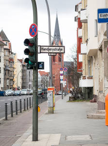 Handjerystraße in Friedenau.