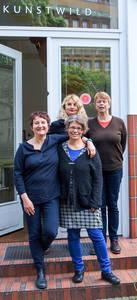 Im Einsatz für Friedenau (v.h.l.n.v.l.): A. Schraepler, D. Walther, S. Wild und S. Würich.