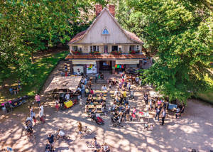 Bereits vor der Sanierung ist das Parkhaus beliebter Begegnungsort für Alt und Jung. Foto: ParkHaus Lietzensee e.V.