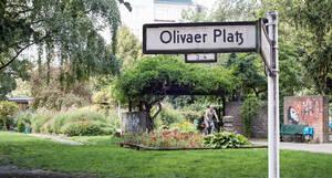 Behutsame Sanierung oder Neugestaltung? Um den Olivaer Platz wird seit Jahren gestritten.