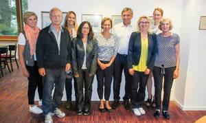 Vorstands- und Beratungsteam: Fachkundige rund um die Immobilie. Foto: HGV