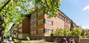 Wohnhaus am Hortensienplatz nach den Entwürfen des Architekten Otto Rudolf Salvisberg.