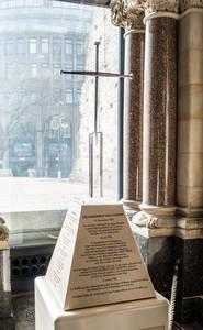 Nagelkreuz aus der Kathedrale von Coventry.