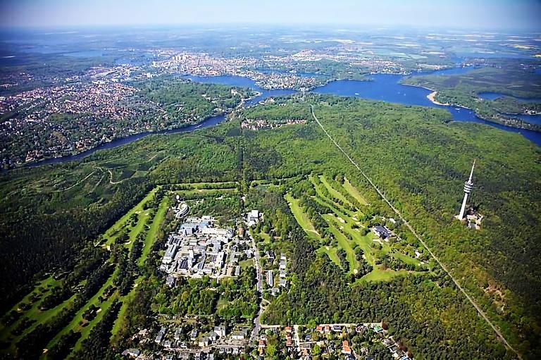 Das Helmholtz Zentrum Berlin in Wannsee. Foto: HZB