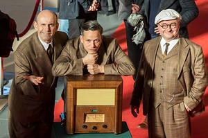 Das Trio: Die Herr'n von der Tankstelle Foto: Martin Stange