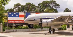 Das britisches Transportflugzeug Hastings TG 503 kann im Alliiertenmuseum besichtigt werden. Es gehört zu den Flugzeugen der Luftbrücke.