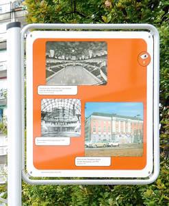 Tafel in der Pallasstraße. Foto: ZERA berlin
