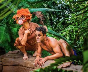 Der brasilianische Schauspieler Jefferson Preto spielt das Findelkind Mogli. Foto: Drehbühne Berlin