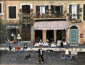 """""""Piazza Navona"""" von Regina Voigt."""