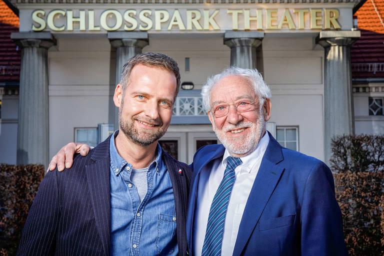 Intendant und Theaterleiter: gemeinsam im Einsatz für ein erfolgreiches Schlosspark Theater. Foto: DERDEHMEL/Urbschat