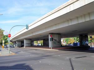 Diskussionspunkt Brücke.