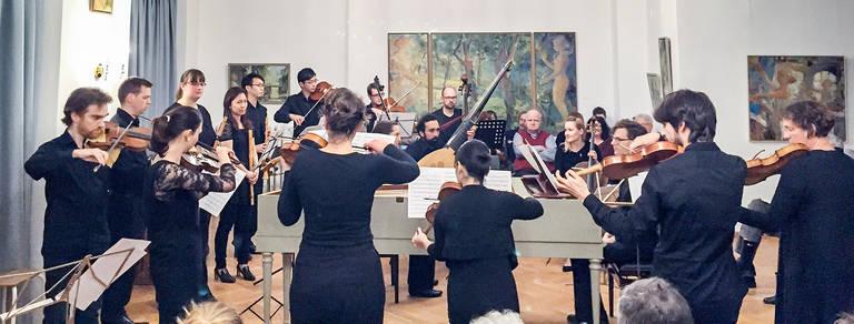 Ensemble Baroque der UdK Berlin. Foto: UdK
