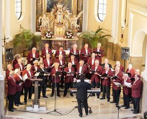 Auch Kirchen bringen die Stimmen des Sonari-Chors bestens zur Geltung. Fotos Sonari-Chor Berlin