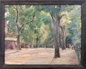 Große Seestraße am Wannsee, 1923. © Liebermann-Villa am Wannsee