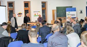 Vollbesetzter Vortragsraum – beim Aktionskreis an der Tagesordnung.