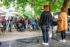 Impression von der Fête de la Musique 2018. Foto: Dirk Lässig