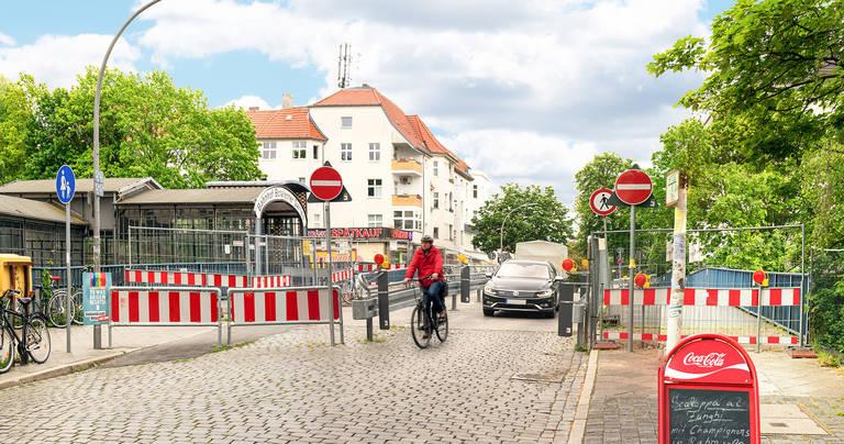 Noch ist die Moltkebrücke eine Einbahnstraße.