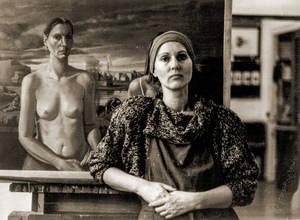 Gisela Breitling ca. 1986. Foto: Helga Satzinger