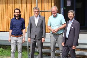 v. l. n. r. Stefan Mittermaier, Jörn Oltmann, Andreas Spieß, Oliver Schworck.