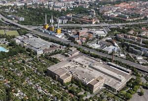 Auf dem Gelände der ehemaligen Zigarettenfabrik in Schmargendorf sollen tausende neue Arbeitsplätze entstehen.Foto: Die Wohnkompanie Berlin