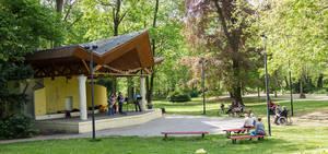 Stadtpark Steglitz.