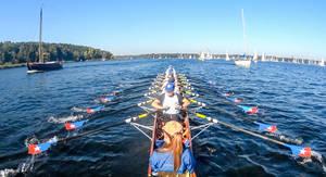"""Achter auf dem Weg zur Kanuscheune. Foto """"Welle-Poseidon"""" e.V."""