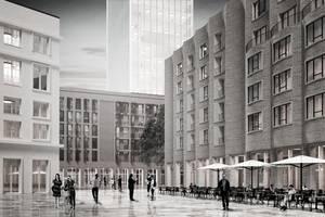 Perspektive Entwurf Felix Behnecke, Paul Schneider, Tino Volkmann (Hafen City Universität Hamburg).