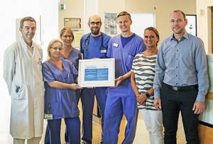 Zertifizierung angehörigenfreundliche Intensivstation des  St.Marien-Krankenhaus. Foto: Marien-Gruppe
