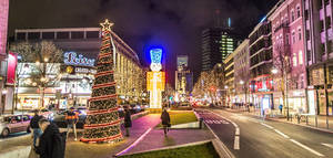 Impressionen der Weihnachtsbeleuchtung aus dem Jahr 2018.