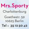 Mrs.Sporty Club Berlin-Karl-August-Platz