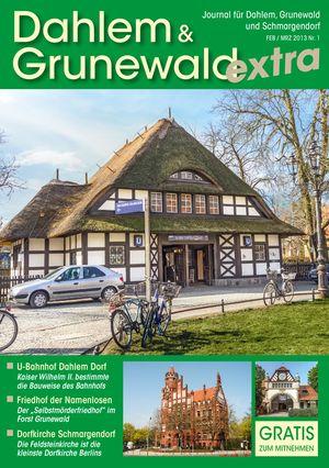 Titelbild Dahlem & Grunewald Journal 1/2013