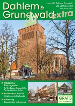 Titelbild Dahlem & Grunewald Journal 2/2013