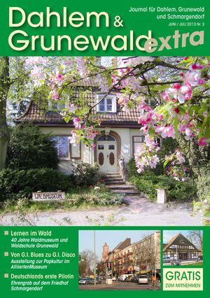 Titelbild Dahlem & Grunewald Journal 3/2013