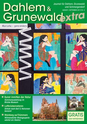 Titelbild Dahlem & Grunewald Journal 4/2013