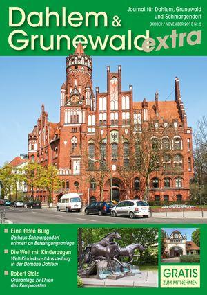 Titelbild Dahlem & Grunewald Journal 5/2013