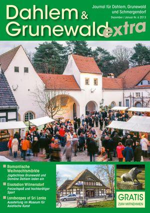 Titelbild Dahlem & Grunewald Journal 6/2013