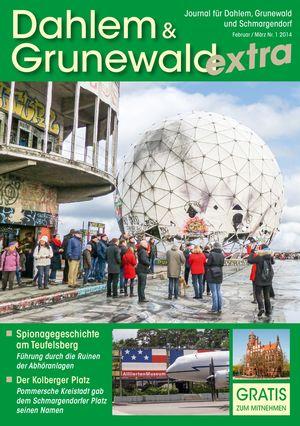 Titelbild Dahlem & Grunewald Journal 1/2014