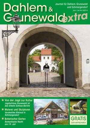 Titelbild Dahlem & Grunewald Journal 3/2014