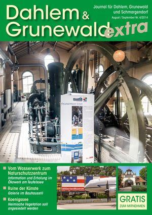 Titelbild Dahlem & Grunewald Journal 4/2014
