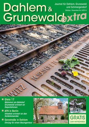 Titelbild Dahlem & Grunewald Journal 5/2014