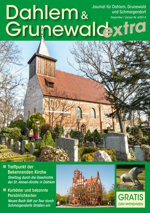 Titelbild Dahlem & Grunewald Journal 6/2014
