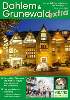 Titelbild Dahlem & Grunewald Journal 1/2015