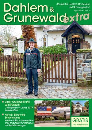 Titelbild Dahlem & Grunewald Journal 2/2015