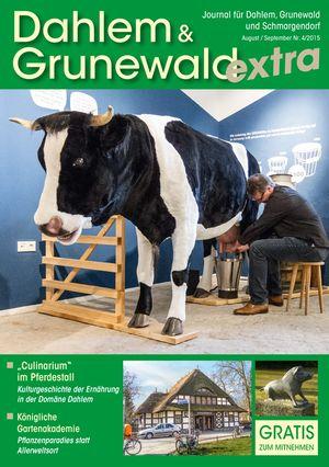 Titelbild Dahlem & Grunewald Journal 4/2015