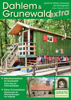 Titelbild Dahlem & Grunewald Journal 5/2015
